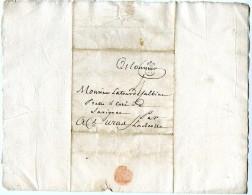 BORDEAUX Pour SAVIGNAC Lenain No 10 - 1701-1800: Precursors XVIII
