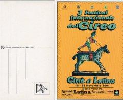 Città Di Latina - 2001 - 3° Festival Internazionale Del Circo - - Circus