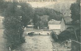 BELGIQUE SALM / Salm-Château, Le Pont Sur La Salm / - België