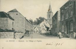 BELGIQUE SAMSON / Le Village Et L'Eglise / - Belgique