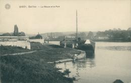 BELGIQUE SEILLES / La Meuse Et Le Port / - Belgique