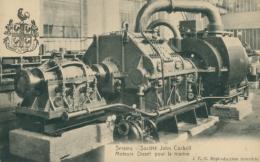 BELGIQUE SERAING / Société John Cockrill, Moteurs Diesel Pour La Marine / - Seraing