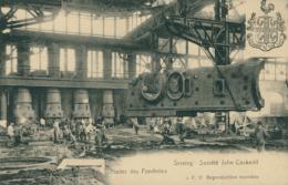 BELGIQUE SERAING / Société John Cockrill, Ateliers Des Fonderies / - Seraing