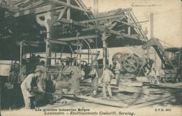 BELGIQUE SERAING / Laminoir, Etablissements Cockerill / - Seraing