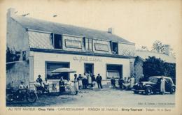 """BELGIQUE SIVRY / """"Au Petit Mayeur"""", Chez Félix, Café-Restaurant, Pension De Famille / - Sivry-Rance"""