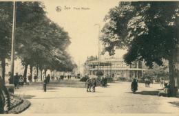 BELGIQUE SPA / Place Royale / - Spa