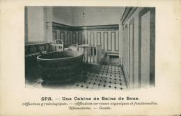 BELGIQUE SPA / Une Cabine De Bains De Boue / - Spa