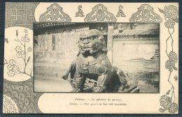 China Peking Pekin 'The Guard At The Lefthand Side' Postcard - China