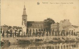BELGIQUE TAMINES / Place Saint-Martin Et Monument Aux Fusillés / - Belgique