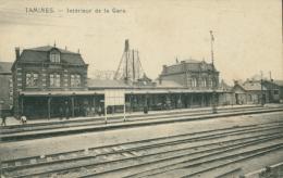 BELGIQUE TAMINES / Intérieur De La Gare / - Belgique
