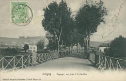 BELGIQUE TORGNY / Paysage: Vue Prise à La Frontière / - Belgique