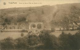 BELGIQUE TROIS PONTS / Route De Coco Et Pont Du Chemin De Fer / - Trois-Ponts