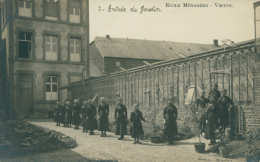 BELGIQUE VIRTON / Ecole Ménagère, Entrée Du Jardin / - Virton