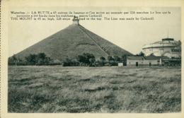 BELGIQUE WATERLOO / La Butte Et Le Lion Qui La Surmonte / CARTE GLACEE - Waterloo