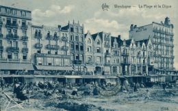 BELGIQUE WENDUYNE / La Plage Et La Digue / - Wenduine