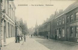 BELGIQUE ZONNEBEKE / Rue De La Station / - Zonnebeke