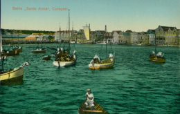 """NL CURACAO / Bahia, """"Santa Anna"""" / CARTE COULEUR GLACEE - Curaçao"""