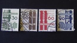 Denmark - 1968 - Mi: DK 470-473 - Yt:DK 481-484 O - Look Scan - Usado