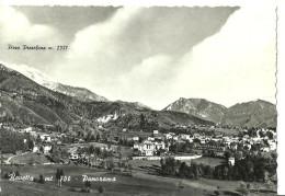 Rovetta (Bergamo, Lombardia) Veduta Panoramica, Sullo Sfondo Pizzo Presolana - Bergamo
