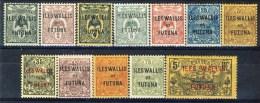 Wallis Et Futuna 1920 Serie N. 1-17 (mancano N. 15 E 16) MLH Catalogo € 34 - Unused Stamps