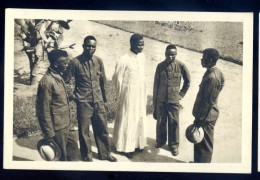 Cpa Du Congo Belge Missions Des Jésuites -- étudiants En Philosophie Et Théologie    LIOB37 - Congo Belge - Autres