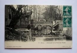 91- ORSAY - L'abreuvoir Et Le Pont De L'YVETTE - Orsay