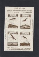 Vignette Aviation LYON 1931 Exposition Philatélique - 2° Tirage - Brun - Gomme Sans Charnière - En Superbe état - Aviation