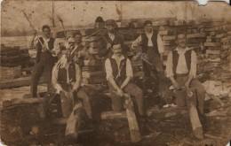 Romania - Taietori De Lemne - Wood Industry - Romania