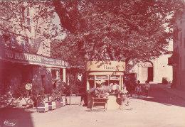 Solliès Pont 83 - Café Fleuriste Eglise - Panneau Footbal C.S. S.P. - France
