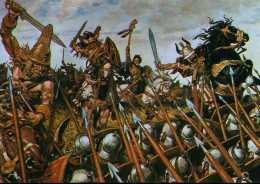 CPM - Les Gaulois Contre Les Romains à Gergovie - Guerres - Autres