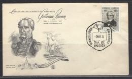 ARGENTINIEN - FDC Mi-Nr. 652 - 100. Todestag Von Admiral Guillermo Brown - FDC
