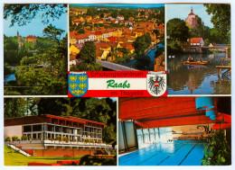 AK 3820 Raabs An Der Thaya Im Thayatal Waldviertel Hallenbad Schwimmbad Österreich Niederösterreich NÖ Austria A.d. - Raabs An Der Thaya