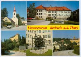 AK 3822 Karlstein An Der Thaya Waldviertel Uhrenzentrum Berufsschule Für Uhrmacher Niederösterreich Österreich A.d. I. - Waidhofen An Der Thaya