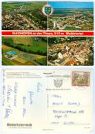 AK 3830 Waidhofen An Der Thaya Luftbild Waldviertel Mehrbild Österreich A. D. NÖ Niederösterreich Austria Autriche Im - Waidhofen An Der Thaya