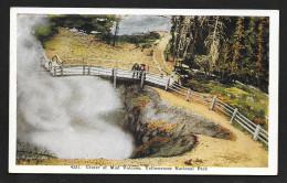 Crater Of Mud Volcano Yellowstone National Park Unused C1920s STK#92615 - Yellowstone