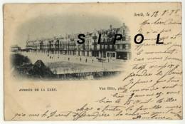 Berck Avenue De La Gare Précurseur Voyagé En 1898 - Berck