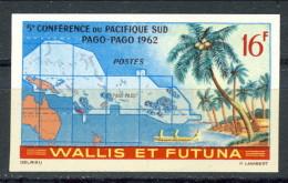 Wallis Et Futuna 1962 N. 161 F. 16 MNH NON DENTELLATO Catalogo € 26 - Imperforates, Proofs & Errors