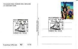 1998 VIAGGIO NEL VERDE DEL MOLISE - Trains