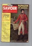TOUT SAVOIR N°65 De Octobre 1958 Napoleon Cet Inconnu ( Lot 3 ) - Algemene Informatie