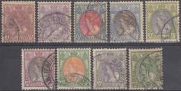 Holanda 1908-22 Nº 75A/81A Usado - 1891-1948 (Wilhelmine)