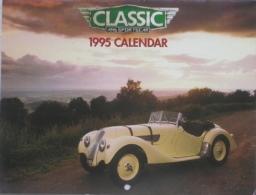 CALENDARIO 1995 - CLASSIC AND SPORTS CAR - Calendari
