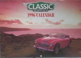 CALENDARIO 1996 - CLASSIC AND SPORTS CAR - Calendari
