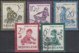 Holanda 1950 Nº 549/53 Usado - 1949-1980 (Juliana)