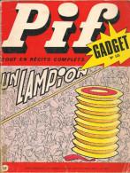 Pif Gadget N° 125 De Juil 1971 - Avec Gai-Luron, Pifou, Horace, Couik, Teddy Ted, Nasdine Hodja, Nestor. Revue En BE - Pif & Hercule