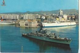 Malaga Port - Warships