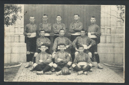 CPA - BASSE WAVRE - Petit Séminaire - Equipe Football Sport  // - Wavre