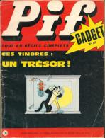 Pif Gadget N° 115 De Mai 1971 - Avec Gai-Luron, Pifou, Couik, Nestor, Loup Noir, Jungle En Folie, L´égarée. Revue En BE - Pif & Hercule