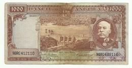 Portugal Angola 1000 Escudos 15-08-1956 AEF - Portugal