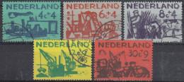 Holanda 1959 Nº 703/07 Usado - 1949-1980 (Juliana)