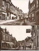 2 CARTES -  ROYAUME- UNI-  SALISBURY STREET -  BLANDFORD - SALISBURY HOTEL - - England